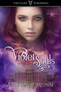 Cover of Violet Souls by Abbey MacMunn