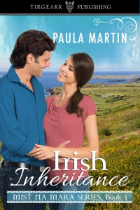 Cover of Irish Inheritance by Paula Martin