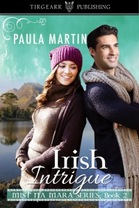 Cover of Irish Intrigue by Paula Martin