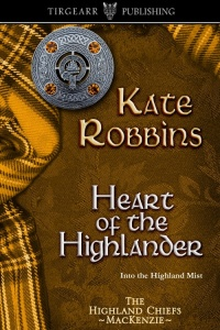 Cover of Heart of the Highlander by Kate Robbins